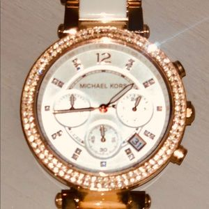 Michael Kors Over-Sized Rose Gold watch